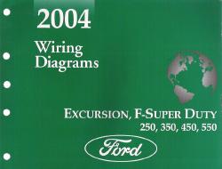 2004 Ford Excursion, F250, F350, F450, F550 & FSuper Duty