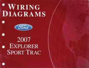 2007 Ford Explorer Sport Trac  Wiring Diagrams