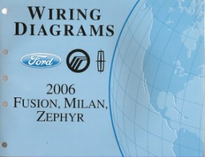 2006 Ford Fusion, Mercury Milan & Lincoln Zephyr  Wiring Diagrams