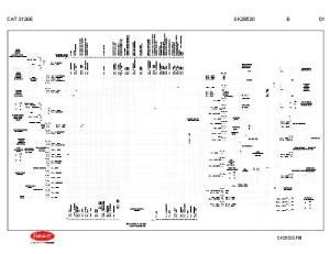 Peterbilt 335 with Caterpillar 3126E Engine Wiring Diagram Schematic