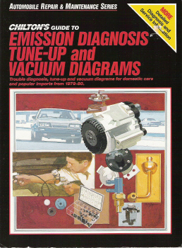 1979  1980 Chilton's Guide to Emission Diagnosis, TuneUp and Vacuum Diagrams