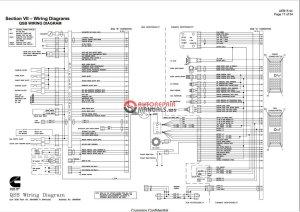 Cummins QSB, QSC, QSM11 Wiring Diagram | Auto Repair