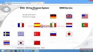 BMW WDS V120 Wiring Diagram System for BMW vehicles