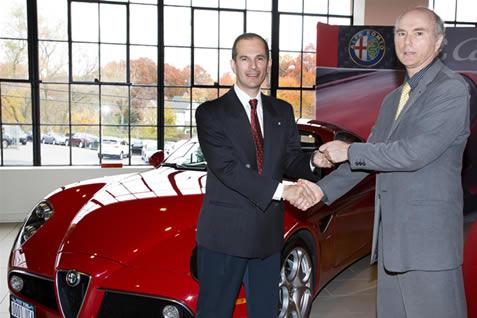 alfa-romeo-8c-prima-consegna-usa Alfa Romeo 8C Competizione: la prima consegna in USA
