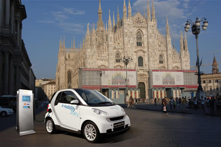 smart-enel-e-mobility Smart-Mercedes, Enel e l'e-mobility