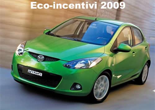 eco-incentivi-mazda2-2009 Eco-incentivi 2009: i modelli Mazda che ne beneficiano