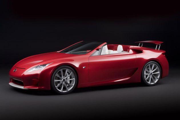 lexus_lf-a_roadster_01 Lexus: allo studio la LF-A Roadster e la crossover VX a 7 posti