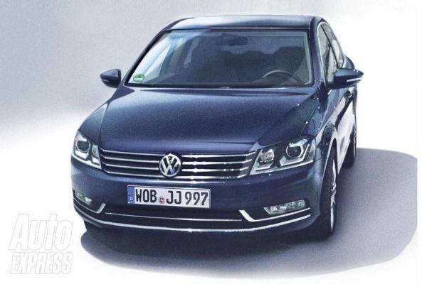 volkswagen_passat_6 Volkswagen: al Salone di Parigi debutta la Passat 6