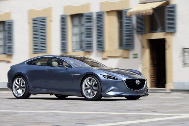 mazda_shinari Il futuro di Mazda nel design, nella qualità e con Ford