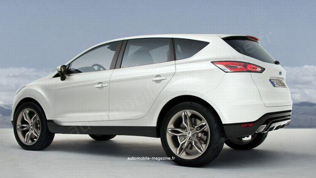 nuova_ford_kuga_02 Ford Kuga 2012: la nuova generazione deriverà dalla concept Vertrek