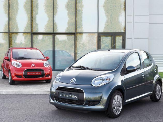 citroen_c1 Auto economiche 2012: auto a basso costo sotto i 10.000 euro listino aprile