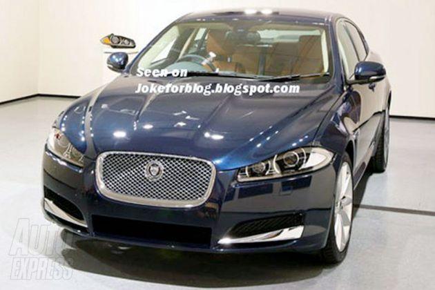 jaguar_xf_restyling Jaguar XF: sfugge la prima immagine del restyling