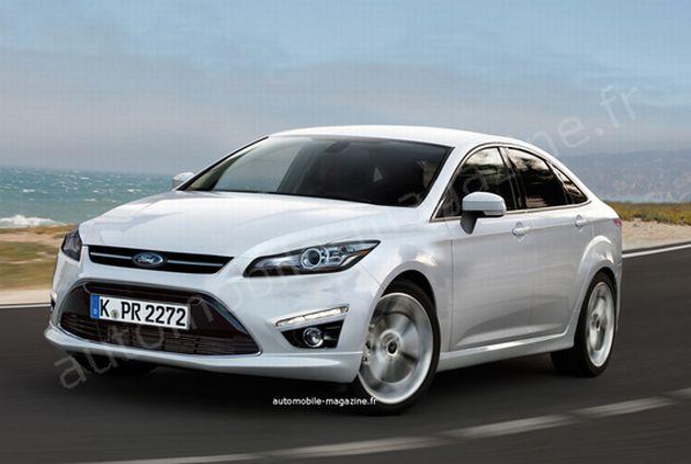 nuova_ford_mondeo Ford Mondeo: primi render della quarta generazione