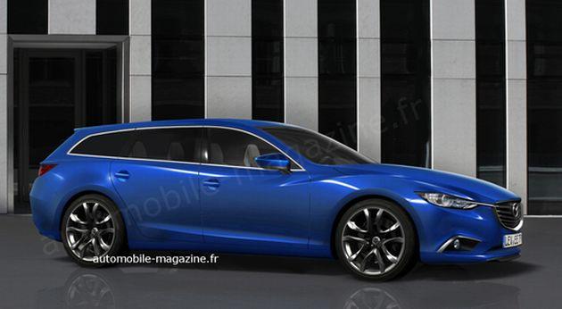 nuova_mazda_6_fastwagon Mazda 6: i render della nuova generazione