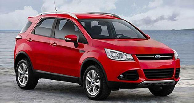 ford_ecosport_render Ford Ecosport: nel 2015 la piccola SUV