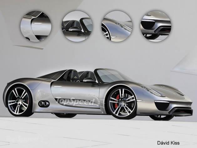 2013-porsche-918-spyder La Porsche 918 Spyder arriverà nel 2013