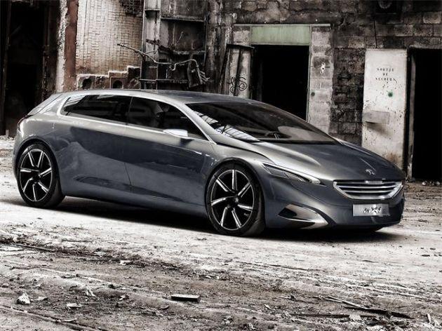 peugeot_hx1_concept Peugeot 608: l'offensiva per il segmento E