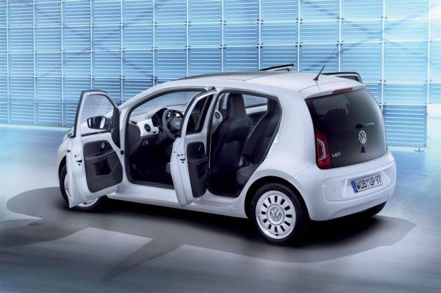 volkswagen_up_5_porte Volkswagen up!: metano e 5 porte al Salone di Ginevra 2012