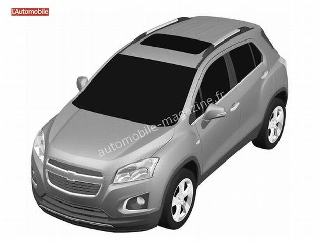 chevrolet_suv_piccola_render Chevrolet: in arrivo la gemella della Opel Mokka