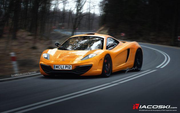 nuova_mclaren_f1_render McLaren F1: il render del nuovo modello