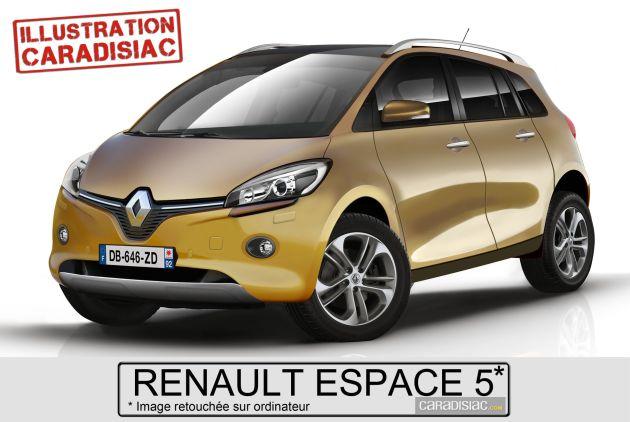 nuova_renault_espace_render Renault Espace: render della quinta generazione