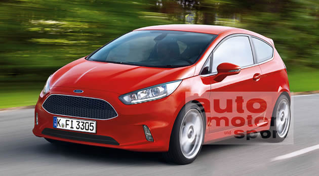 ford-fiesta-restyling-2013 Ford Fiesta: il render del restyling