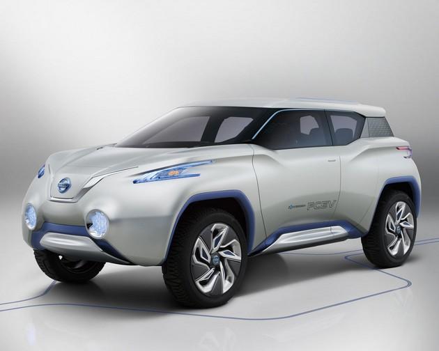 nissan-terra-elettrica-concept Nissan Terra, prototipo elettrica a celle a combustibile