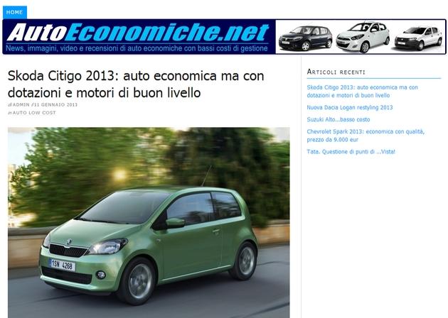 autoeconomiche Leggi il nostro nuovo blog dedicato alle auto economiche-low cost