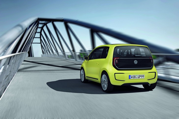 VW-E-Up Volkswagen e-up!: il debutto a Francoforte