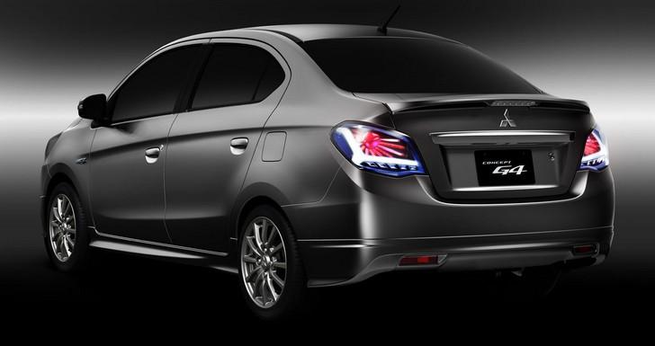 g4-concept Mitsubishi Concept G4: una berlina low cost?