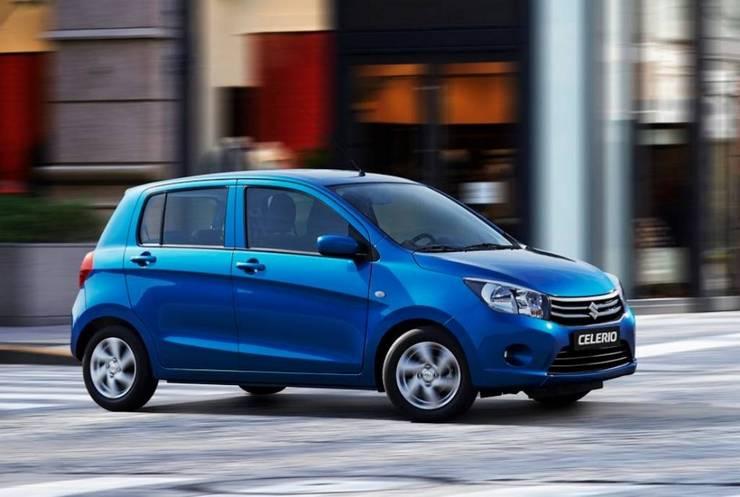 Suzuki-Celerio-2014 Auto economiche e piccole 2015 a meno di 10.000 euro