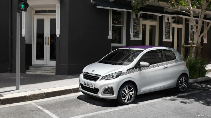 auto-piccole-2016-peugeot-108 5 City Car piccole ed economiche 2018