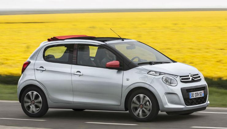 auto-piccole-citroen-c1 5 City Car piccole ed economiche 2018
