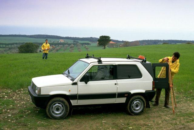1-3-666 Storia della Fiat Panda dal 1980 al 2016, principali versioni dell'utilitaria
