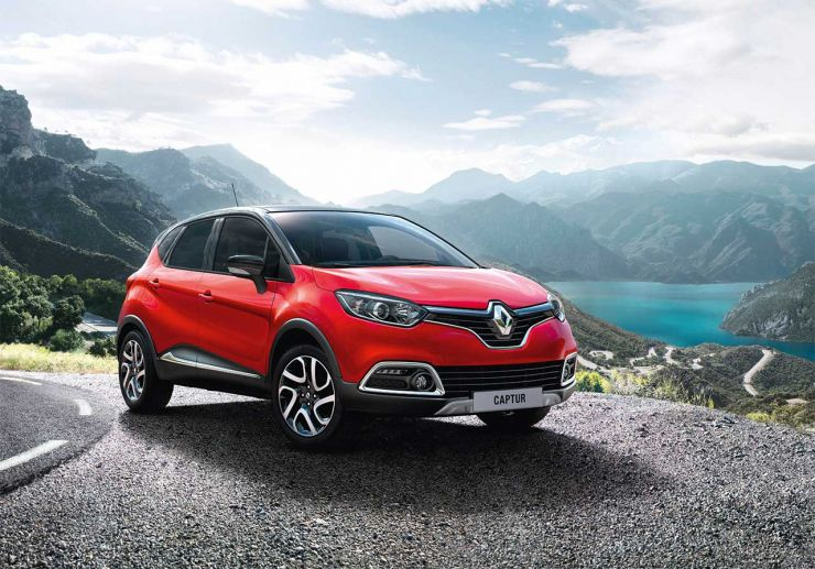 2016-Renault-Captur SUV Economici: Nuovi Modelli sotto i 20.000 Euro