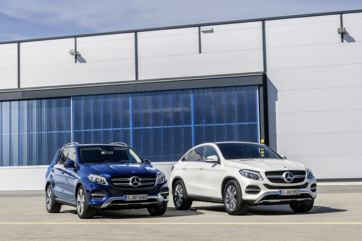 Mercedes-Benz_GLE_e_GLE_Coupe_5 Mercedes-Benz: SUV e Crossover 2017
