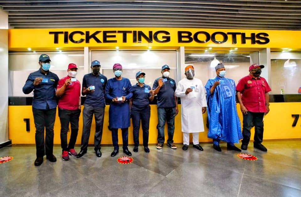 The Launching of e-Card By Sanwo-Olu