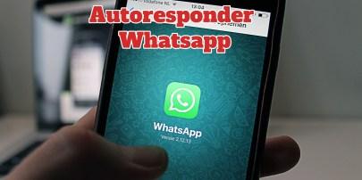 Autorespondedor Whatsapp