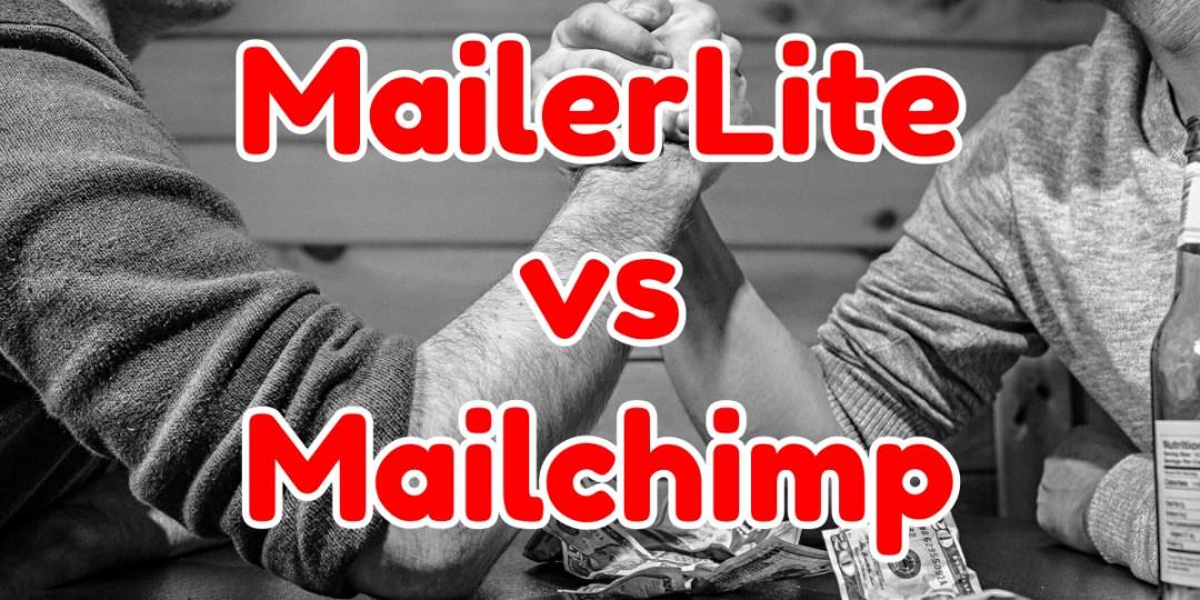 mailerlite vs mailchimp