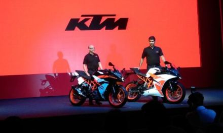 2017 KTM RC 390 Launched in India, Price 2.21 Lakh