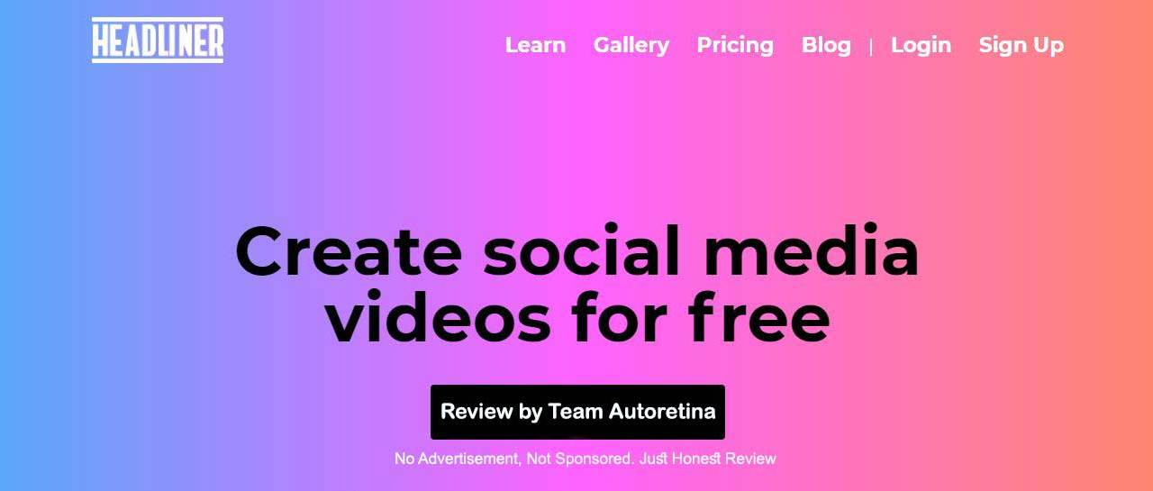 Headliner App review by team Autoretina, what need to improve?