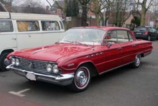 Une Buick authentique... Perdue dans le ch'nord !!!