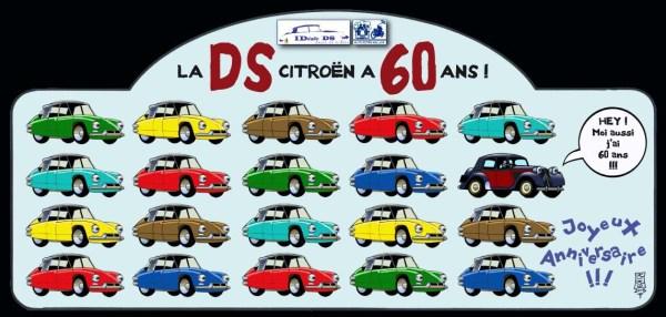 2015 Plaque les soixante ans de la Traction