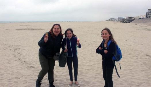 Après le bitume, la plage !