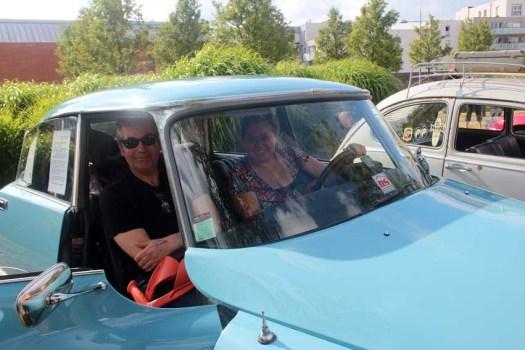 Un couple multinational (franco-germano-hispano-canado-polonais)... C'est ça quand on voyage beaucoup !