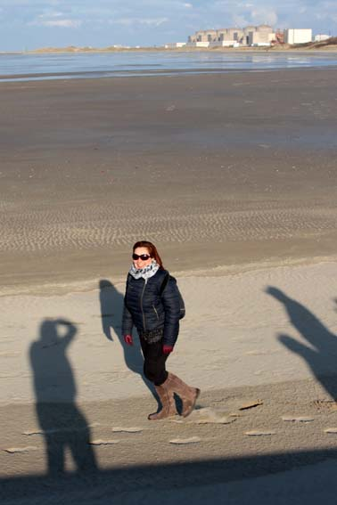 ...Et sur le sable !