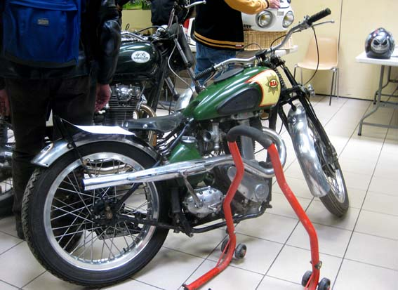 BSA Empire Star Racing 500 (1939)
