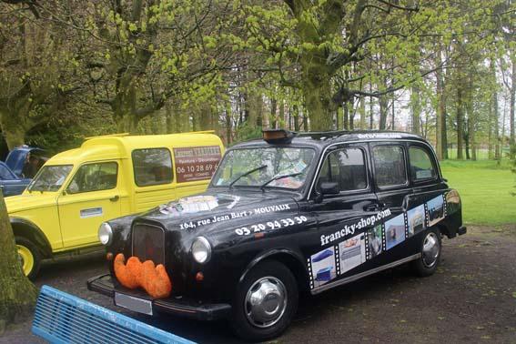 Un taxi à moustache