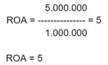 Cuál es la fórmula de la rotación de activos