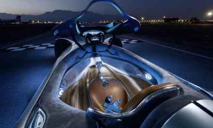 Mercedes-Benz Vision EQ Silver Arrow – Srebrna Strzała